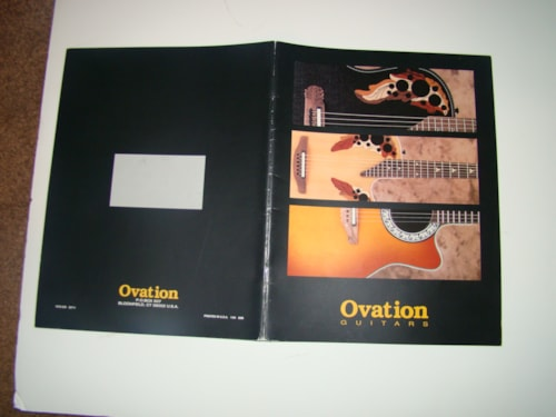 2004 Ovation Catalog