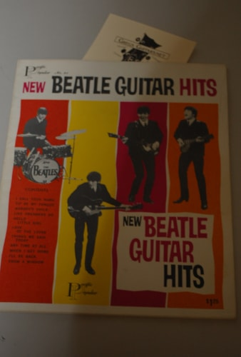 1963 Pacific Popular New Beatle Guitar Hits songbook