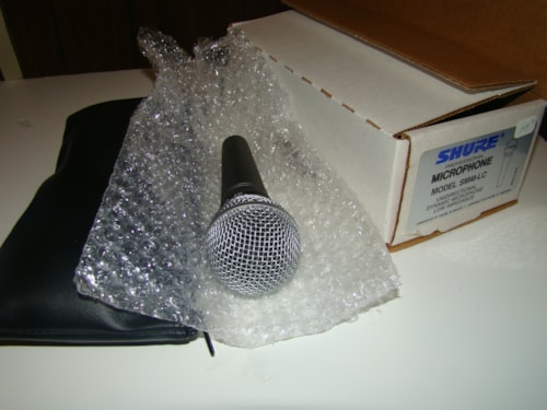 Shure SM48-LC Mic