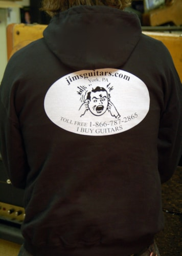2011 Jim's Guitars Hooded Sweatshirt