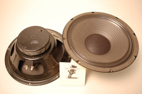 1986 Eminence 2 - 8 ohm speakers