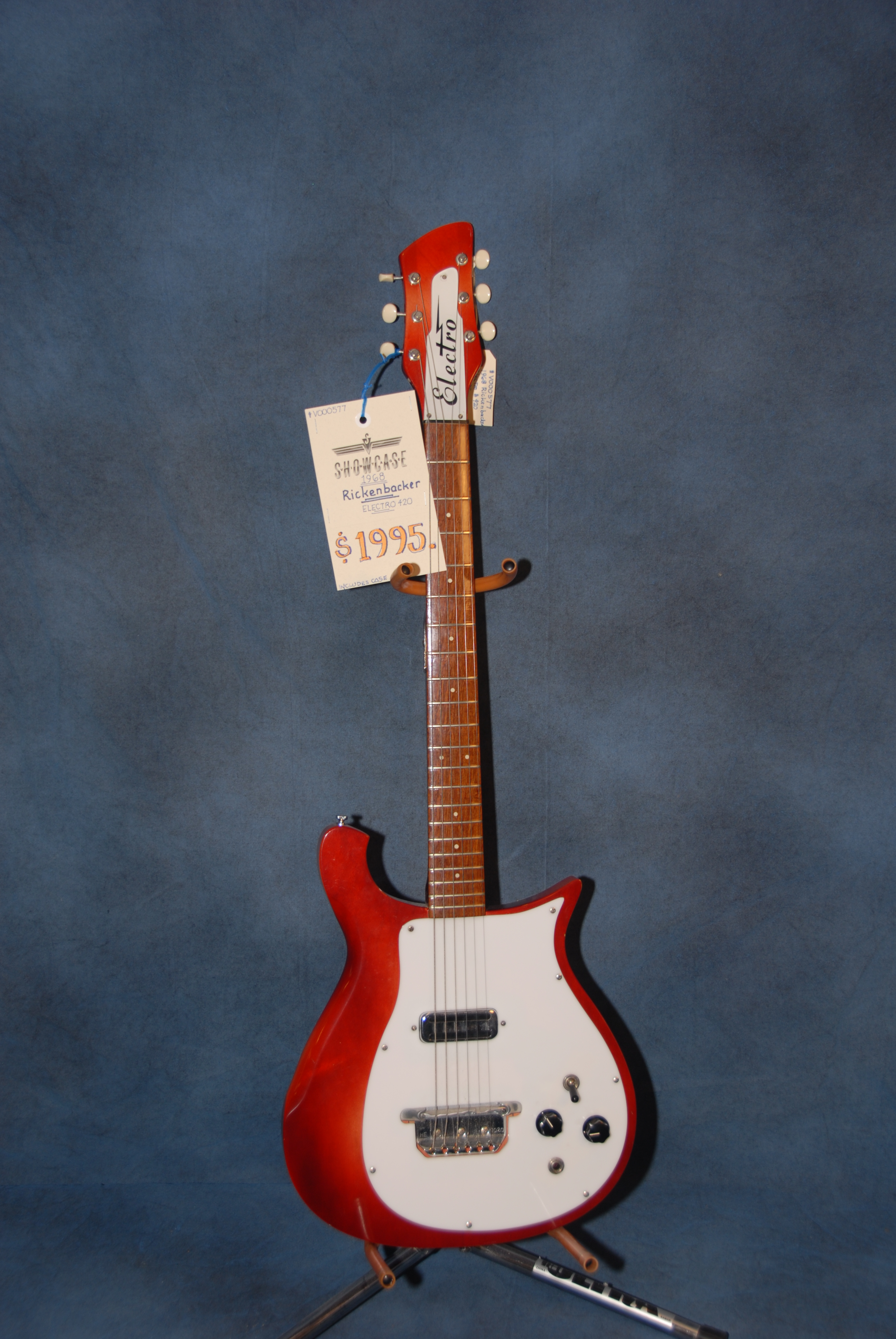 1968 Rickenbacker Electro 420 Red Gt Guitars Electric Solid