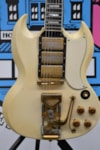 """1961 Gibson 1961 Les Paul """"SG"""" Custom  White, Very Good, <Unknown>, Call For Price!"""
