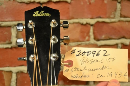 ~1943 Gibson L-50 - #200962