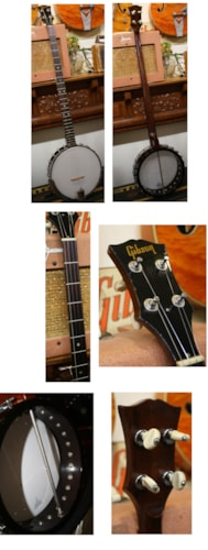 ~1965 Gibson RB-175  LONG NECK 5-string banjo