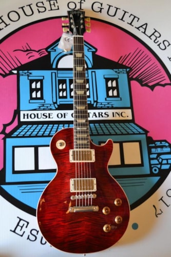 Gibson Class 5 Les Paul - Cranberry Red-01112012