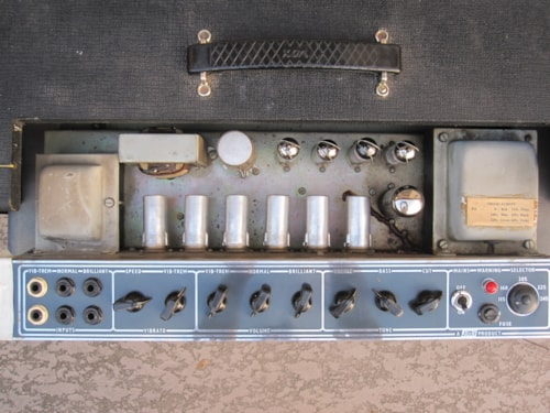 1964 JMI VOX VINTAGE AC30 PANEL TOP BOOST