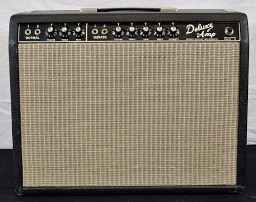 1966 Fender® Deluxe Black Face