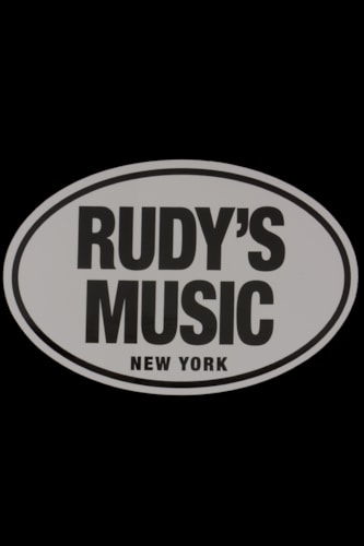 Rudy's Music Oval Sticker