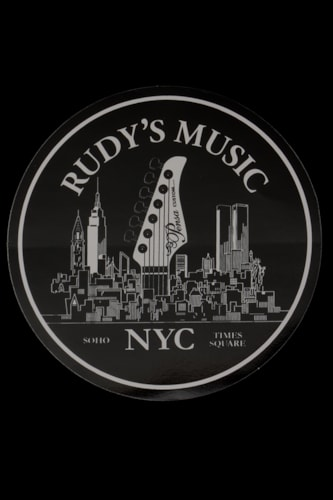 Rudy's Music Logo Sticker