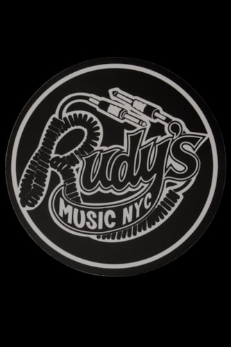 Rudy's Music Throwback Sticker