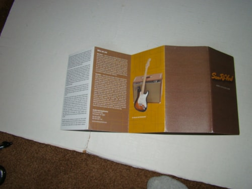 2000 Sam Roverb Amp Catalog