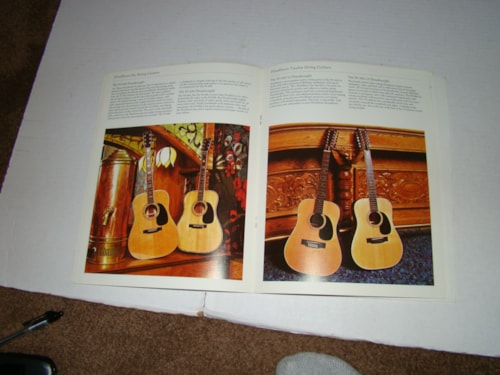 1974 Washburn Acoustic Catalog (Guitar, Banjo, Mandolin)