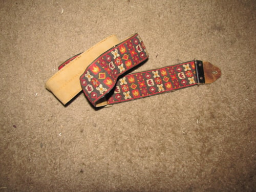 1967 Ace HENDRIX style guitar strap.
