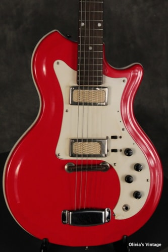 1965 Supro Res-O-Glass Short Scale