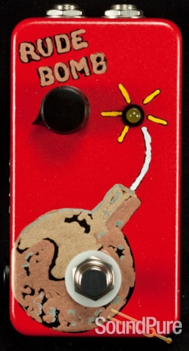 Flickinger Effects Pedals Rude Bomb