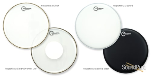 Aquarian Drumheads TCRSP2-16
