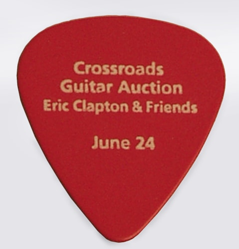 2011 unknown Christie's Crossroads™ Guitar Auction, Eric Clapton and Friends