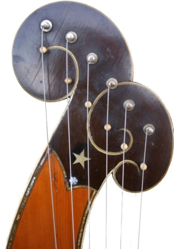 1915 Dyer Bros. Style 8 Harp Guitar