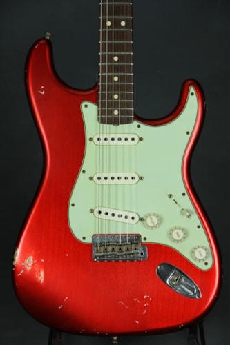 Fender® Custom Shop '63 Stratocaster® Relic® - Candy Apple Red