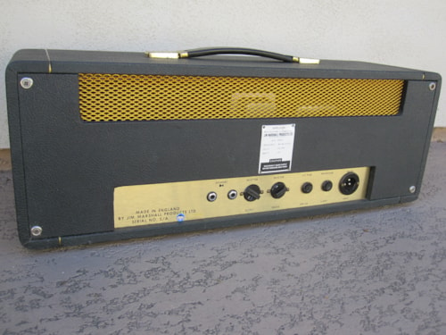 1969 MARSHALL SMALLBOX VINTAGE JMP 50w PLEXI AMP