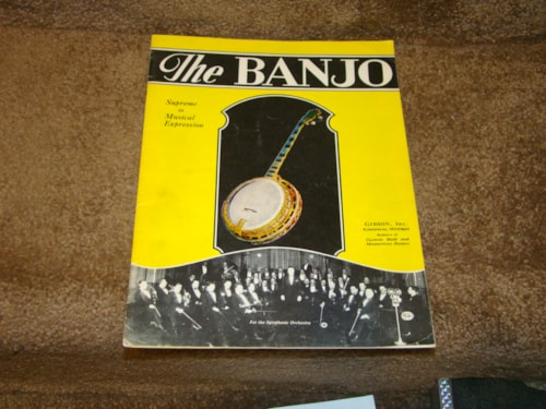1974 Gibson 1927 The Banjo Reprint