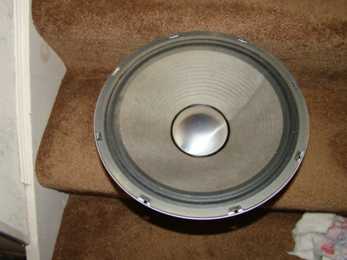 1970 Radio Shack Realistic Heavy Duty 12 in./8 OHMS Speaker