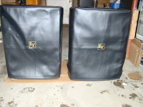 2010 EV SX500 PA / DJ Speakers (covers)