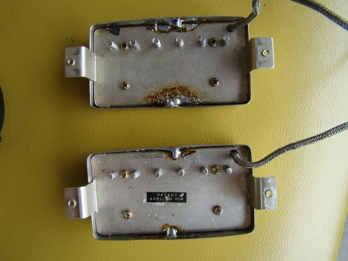 1959 Gibson PAF Pair / One Missing Label/8.89k,8.08k