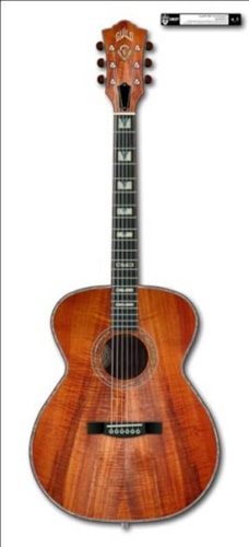 Guild® 2013 60th Anniversary AAAAA Koa F-30 No. 16 of 60