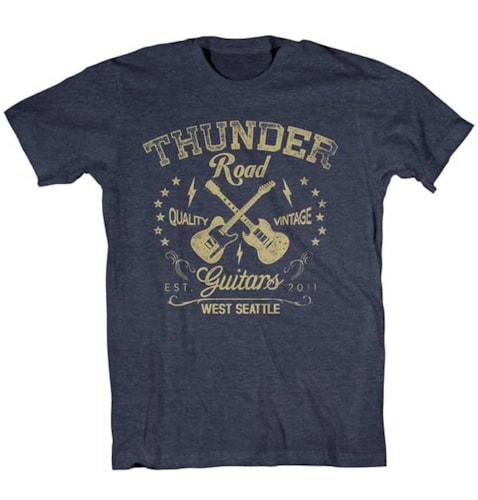Thunder Road Guitars WS T Shirt