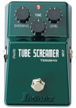 Ibanez TS808HW Hand Wired Tube Screamer Pedal