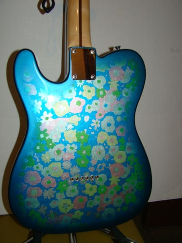 Fender Floral Tele Reissue / Japanese/crafted/P0634XX