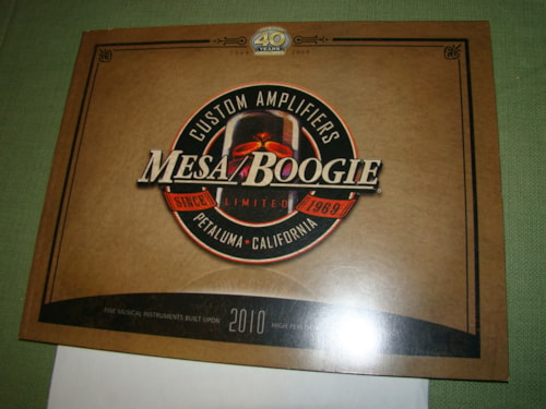 2009 Mesa Boogie 40th Anniversary Catalog
