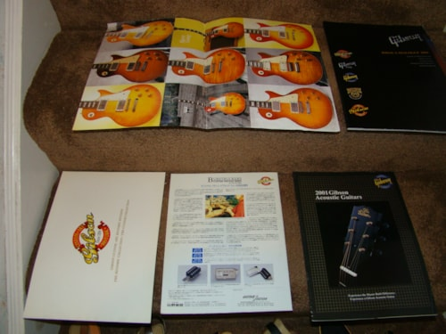 Gibson Japanese Guitar Catalogs-$25 Each