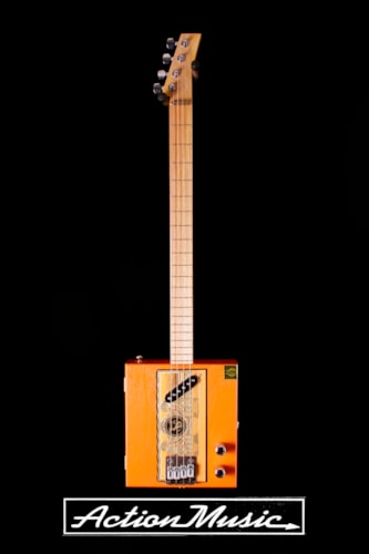 2011 T. Hiles 4-String Cigar Box Guitar