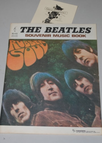1964 The Beatles Rubber Soul souvenir book