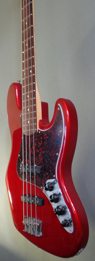 2003 fender jazz bass deluxe active candy apple red guitars bass imperial guitar soundworks. Black Bedroom Furniture Sets. Home Design Ideas