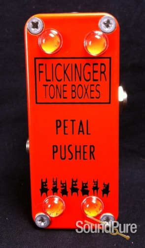 Flickinger Effects Pedals Petal Pusher