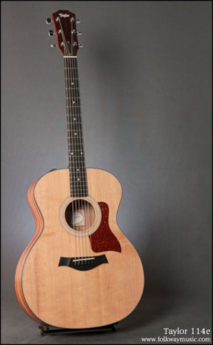 Taylor 114e Gt Guitars Acoustic Folkway Music Gt Guitars