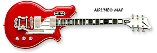 2013 Eastwood/Airline Airline Map DLX