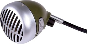 Shure Green Bullet Microphone #520 DX