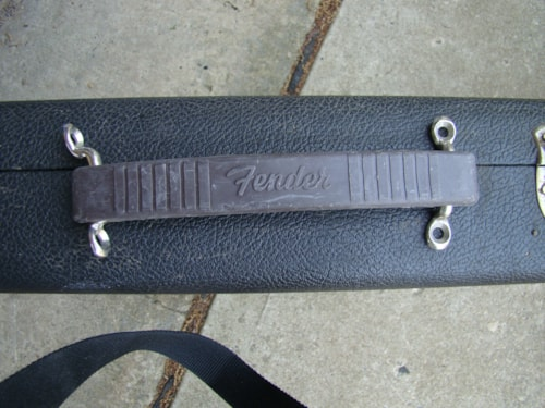 1961 Fender® Rubber Amp Handle-$50 / Cleats-$45