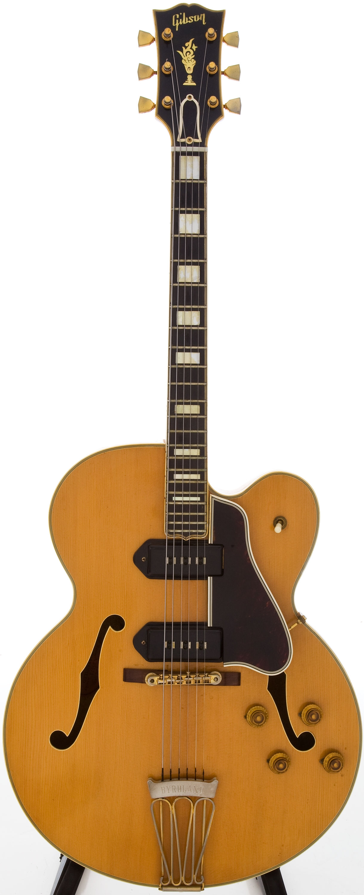 1957 gibson byrdland natural blonde guitars electric semi hollow body southworth guitars. Black Bedroom Furniture Sets. Home Design Ideas
