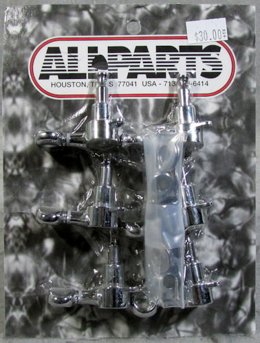 Allparts TK-7560-010 6-in-line Chrome Economy Keys