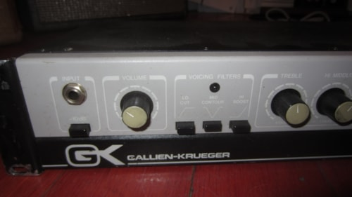 ~1989 GALLIEN KRUEGER 400 RB Bass Amp