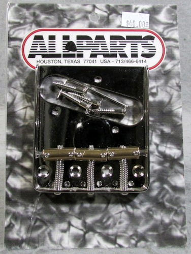 Allparts TB-5125-001 Compensated Saddle Telecaster® Bridge