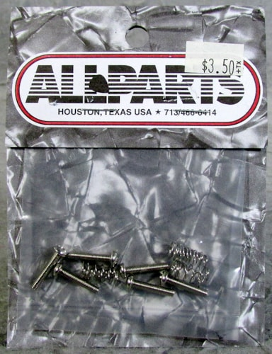 Allparts GS-3324-001 Metric Bridge Length Screws