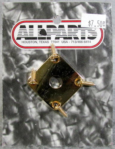 Allparts AP-0633-002 Gold Jackplate
