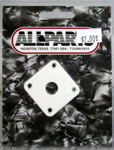 Allparts AP-0633-025 White Jackplate